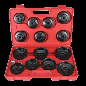Klucze kielichowe do filtrów oleju 15 części