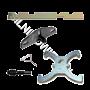 Zestaw blokad rozrządu FORD 1.25 / 1.4 / 1.6 - 16V